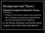 background and theory1