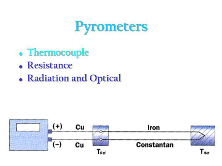 Pyrometers