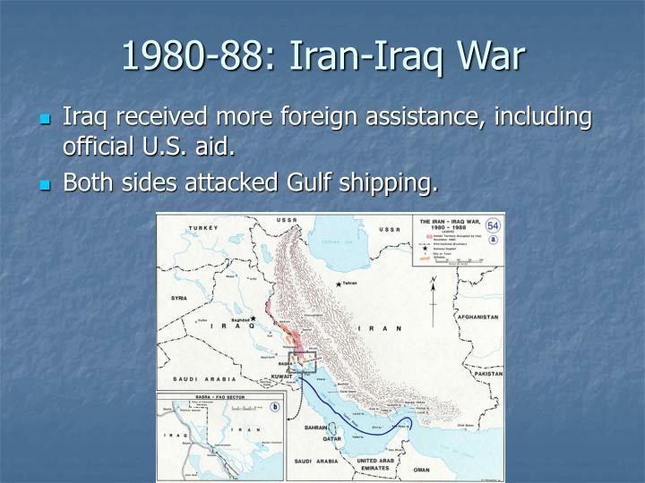 1980-88: Iran-Iraq War