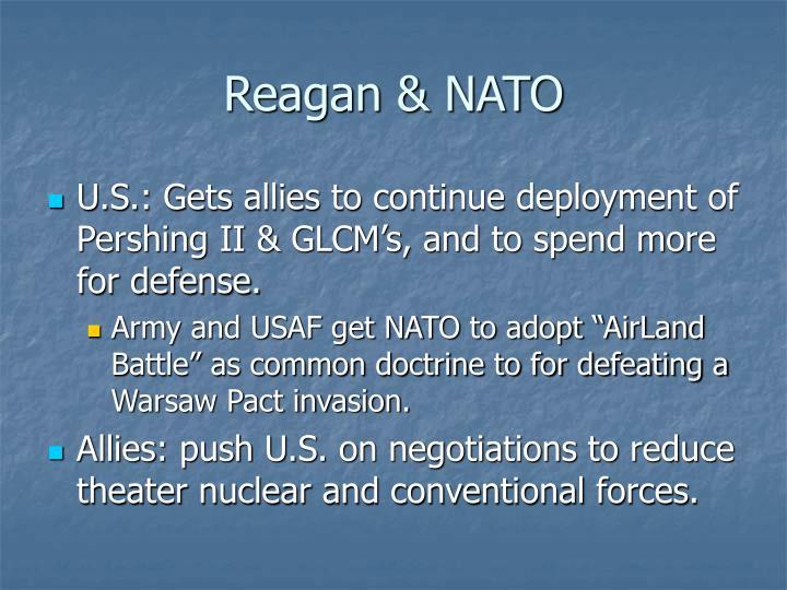 Reagan & NATO