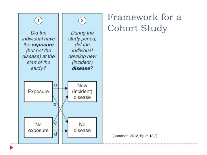 Framework for a Cohort Study