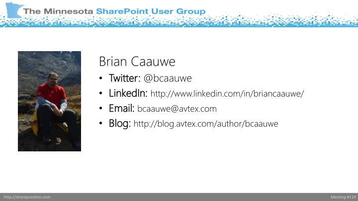 Brian Caauwe