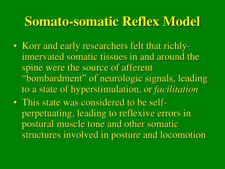 Somato-somatic Reflex Model