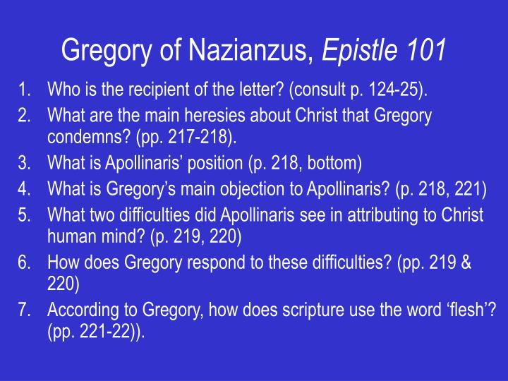 Gregory of Nazianzus,