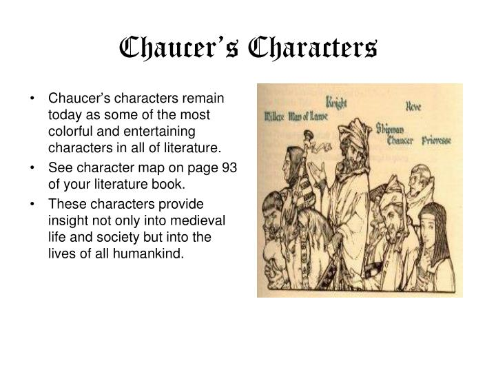 Chaucer's Characters