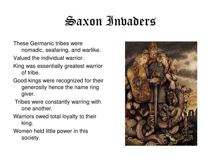Saxon Invaders