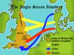 the anglo saxon invaders