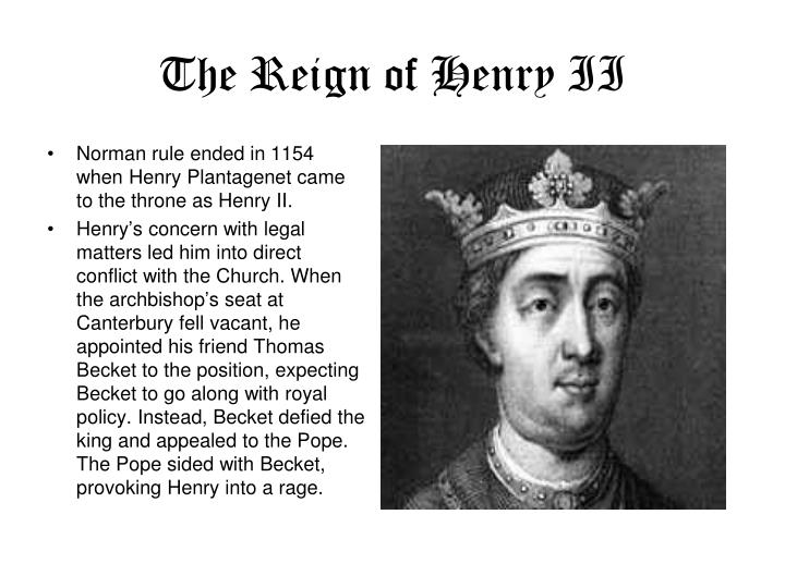 The Reign of Henry II