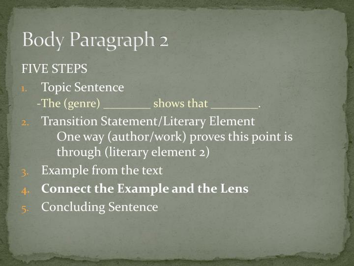 literary elements for critical lens essays A critical lens essay is a type of literary analysis paper in this case, you start with a quotation, which you view through a critical lens this viewing involves restating the quotation in your own words, thus interpreting it.