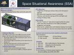 space situational awareness ssa