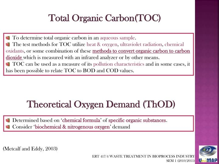 Total Organic Carbon(TOC)