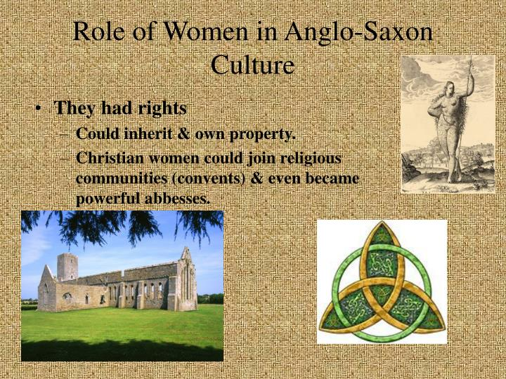Role of Women in Anglo-Saxon Culture