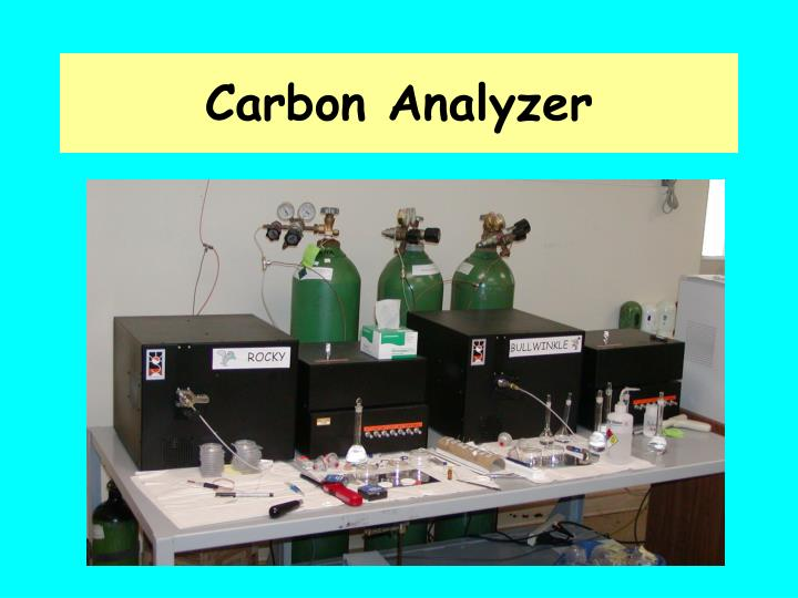 Carbon Analyzer