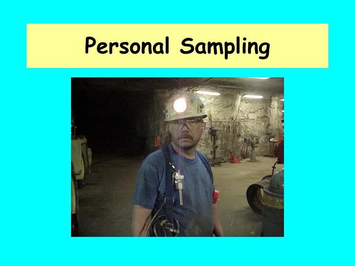 Personal Sampling