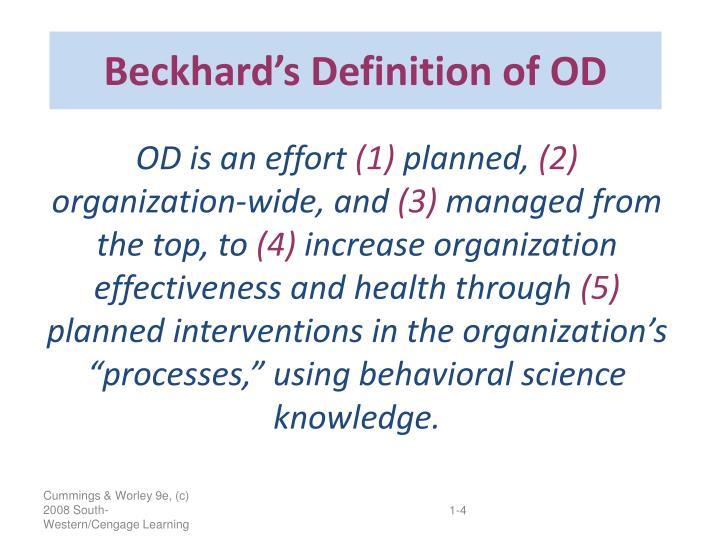 Beckhard's