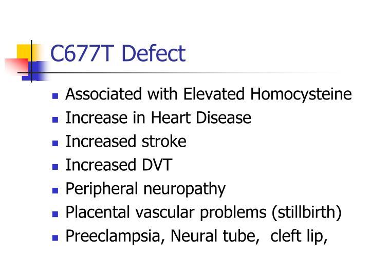 C677T Defect