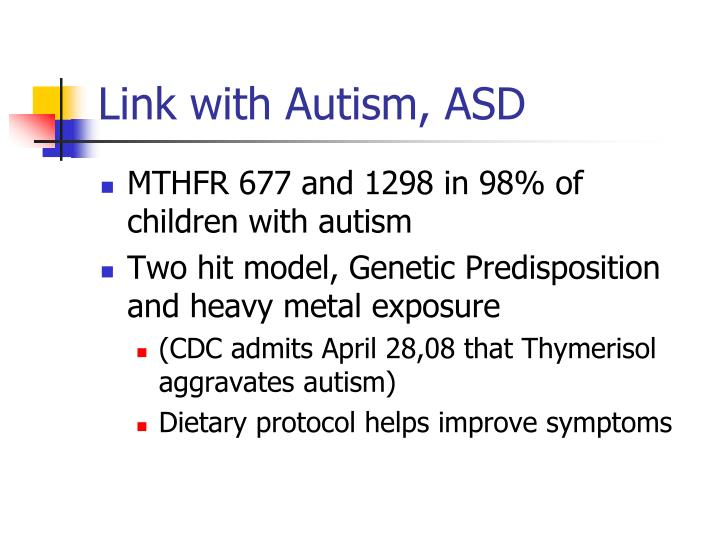 Link with Autism, ASD