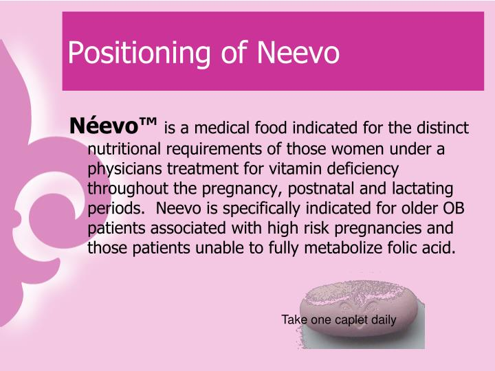 Positioning of Neevo