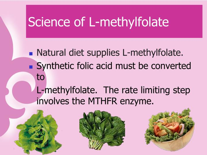 Science of L-methylfolate