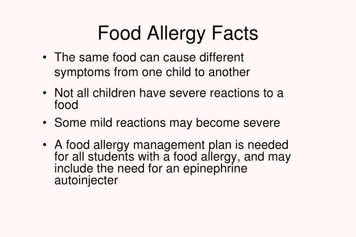 Food Allergy Facts