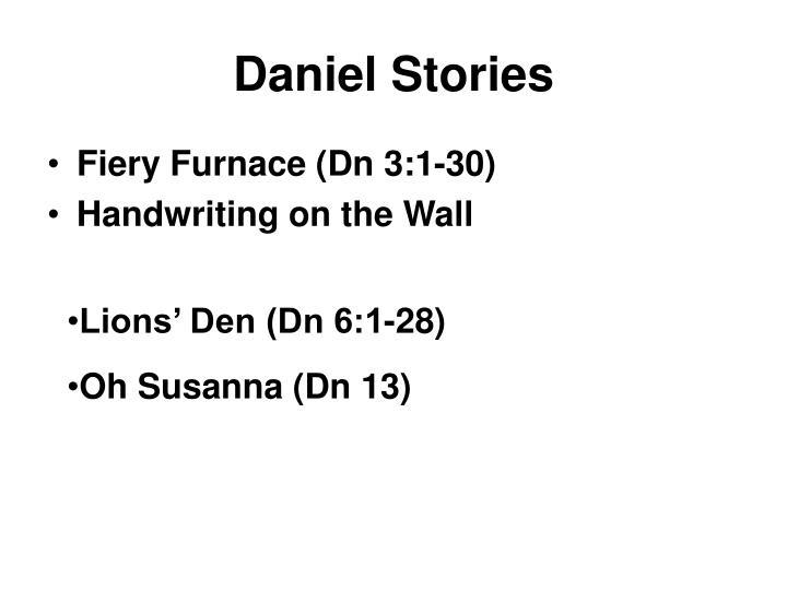 Daniel Stories