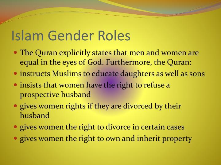 Islam Gender Roles