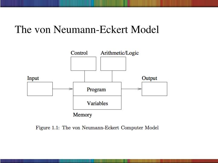 The von Neumann-Eckert Model
