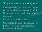 why convert to new religions