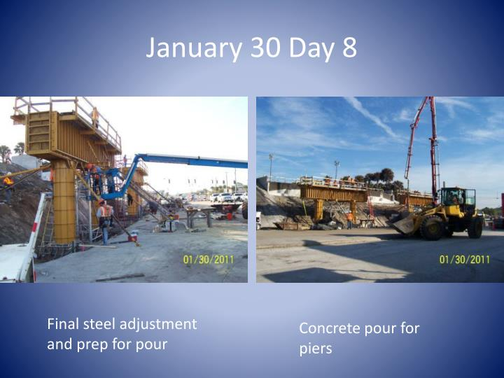 January 30 Day 8