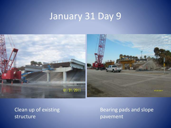 January 31 Day 9