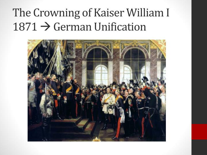 The Crowning of Kaiser William I
