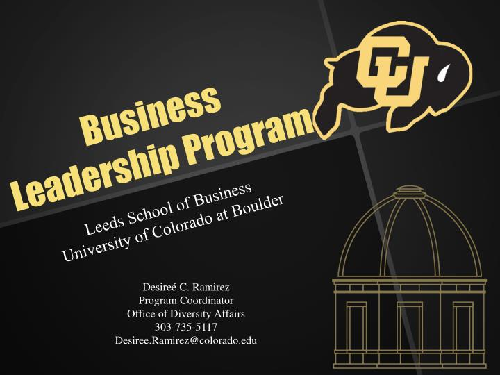 Business Leadership Program