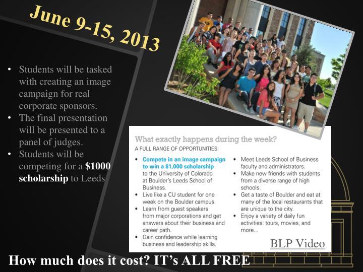 June 9-15, 2013