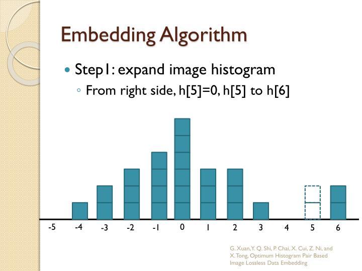 Embedding Algorithm