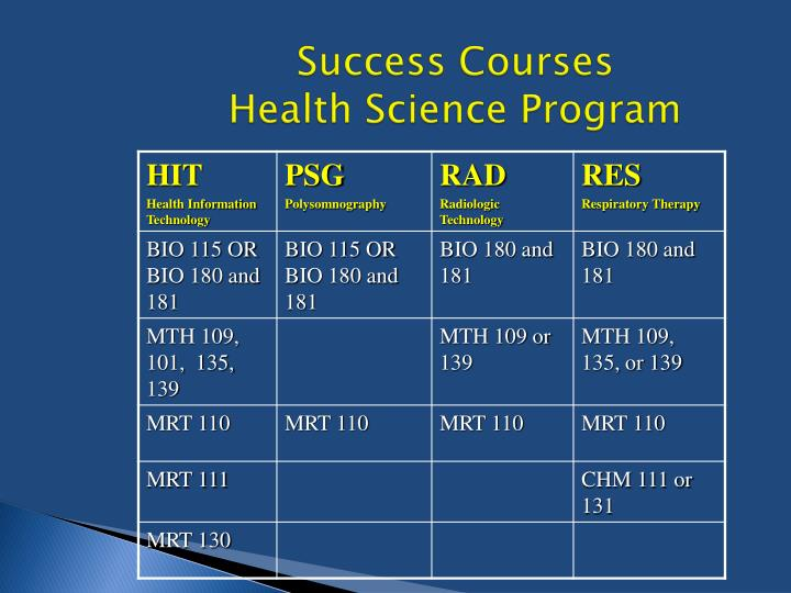 Success Courses