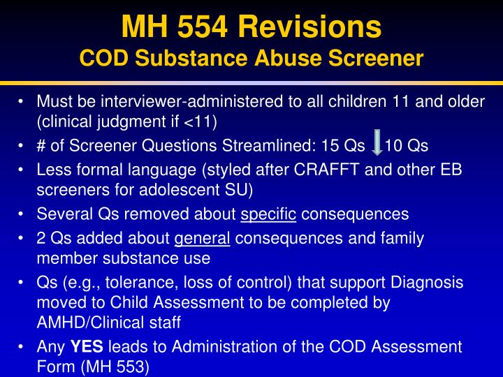 MH 554 Revisions