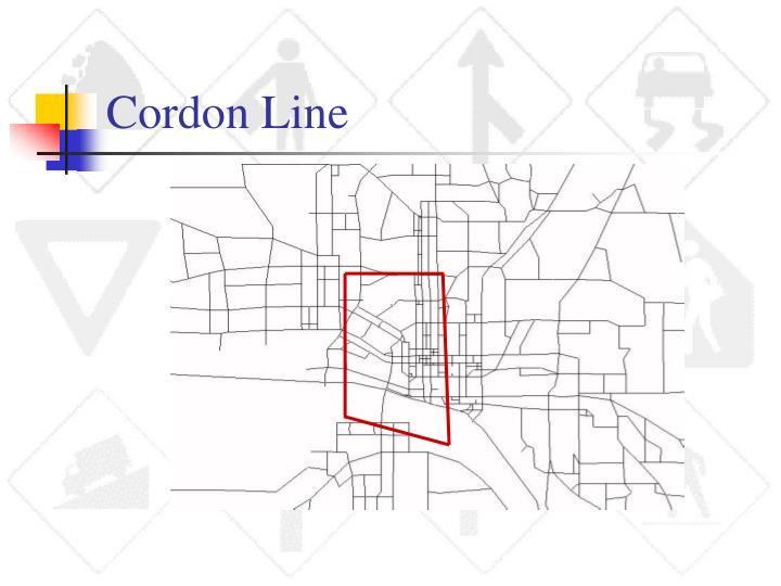 Cordon Line
