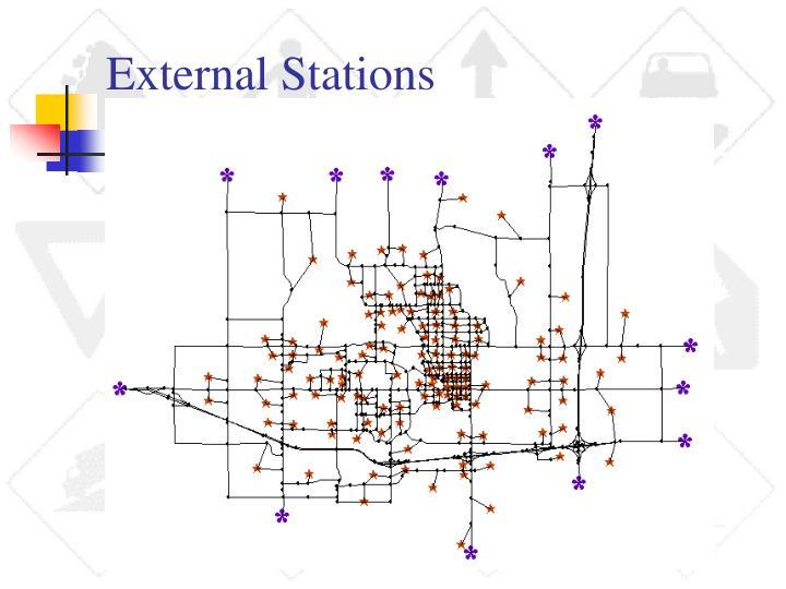 External Stations