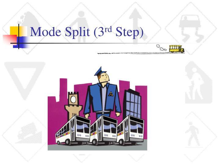 Mode Split (3