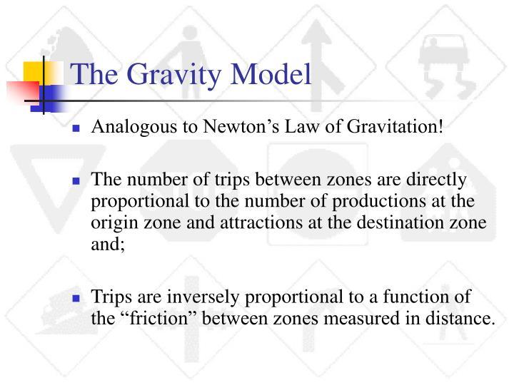 The Gravity Model