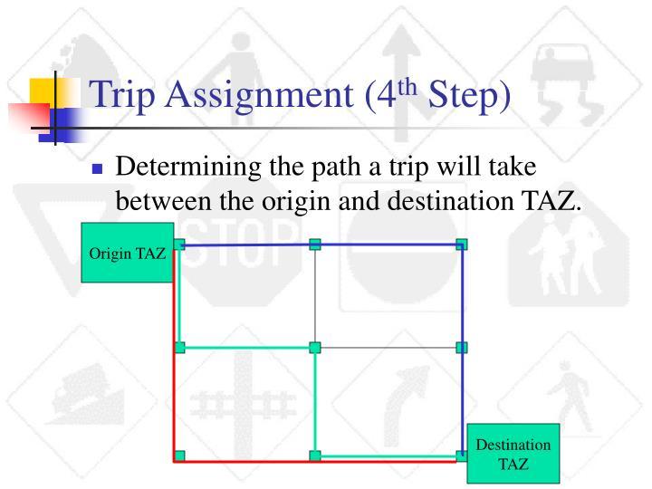 Trip Assignment (4