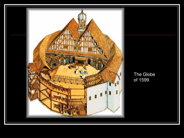The Globe of 1599