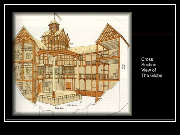 Cross Section View of The Globe
