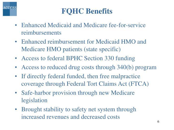 FQHC Benefits