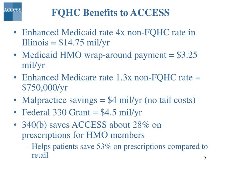 FQHC Benefits to ACCESS