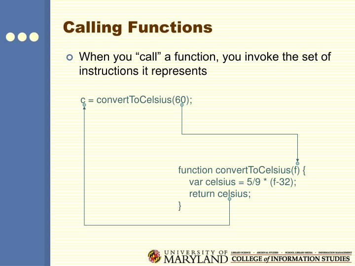 function convertToCelsius(f) {