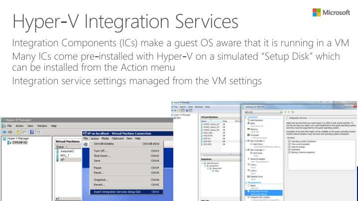 Hyper-V Integration
