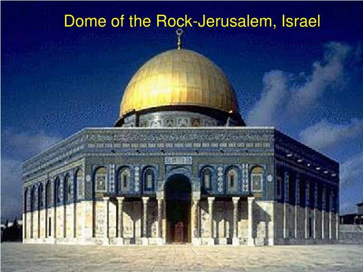 Dome of the Rock-Jerusalem, Israel