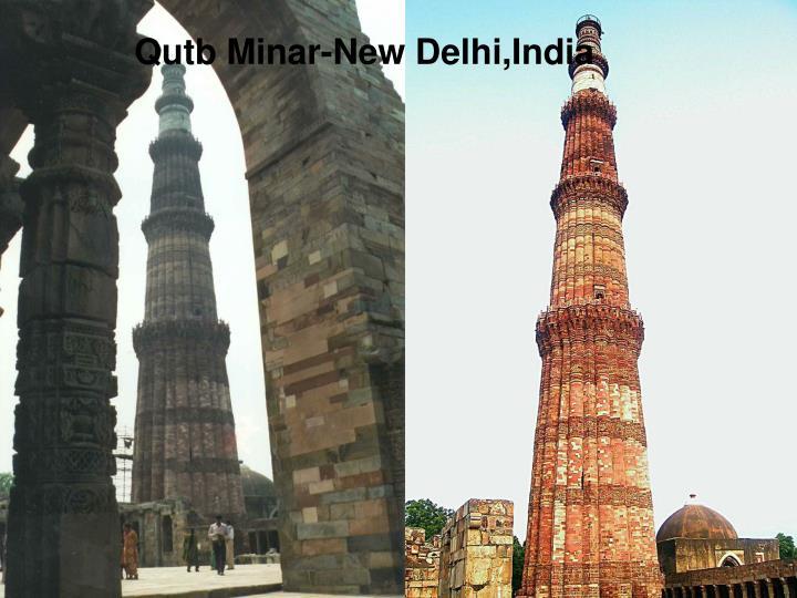 Qutb Minar-New Delhi,India