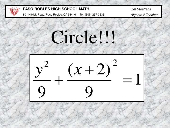 Circle!!!
